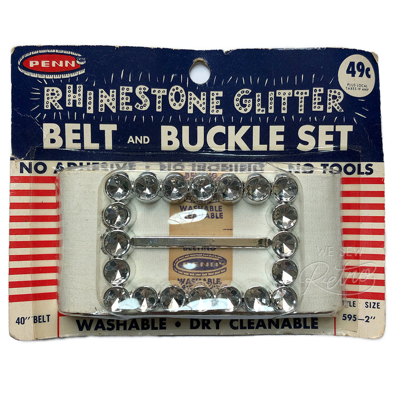 Vintage Rhinestone Belt Kit - Make Your Own Rhinestone Belt