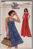1970s Dress Vintage Sewing Pattern - Vogue 8893 Vintage Pattern