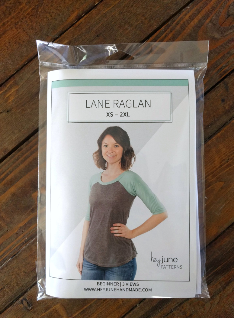 Hey June Lane Raglan Paper Sewing Pattern