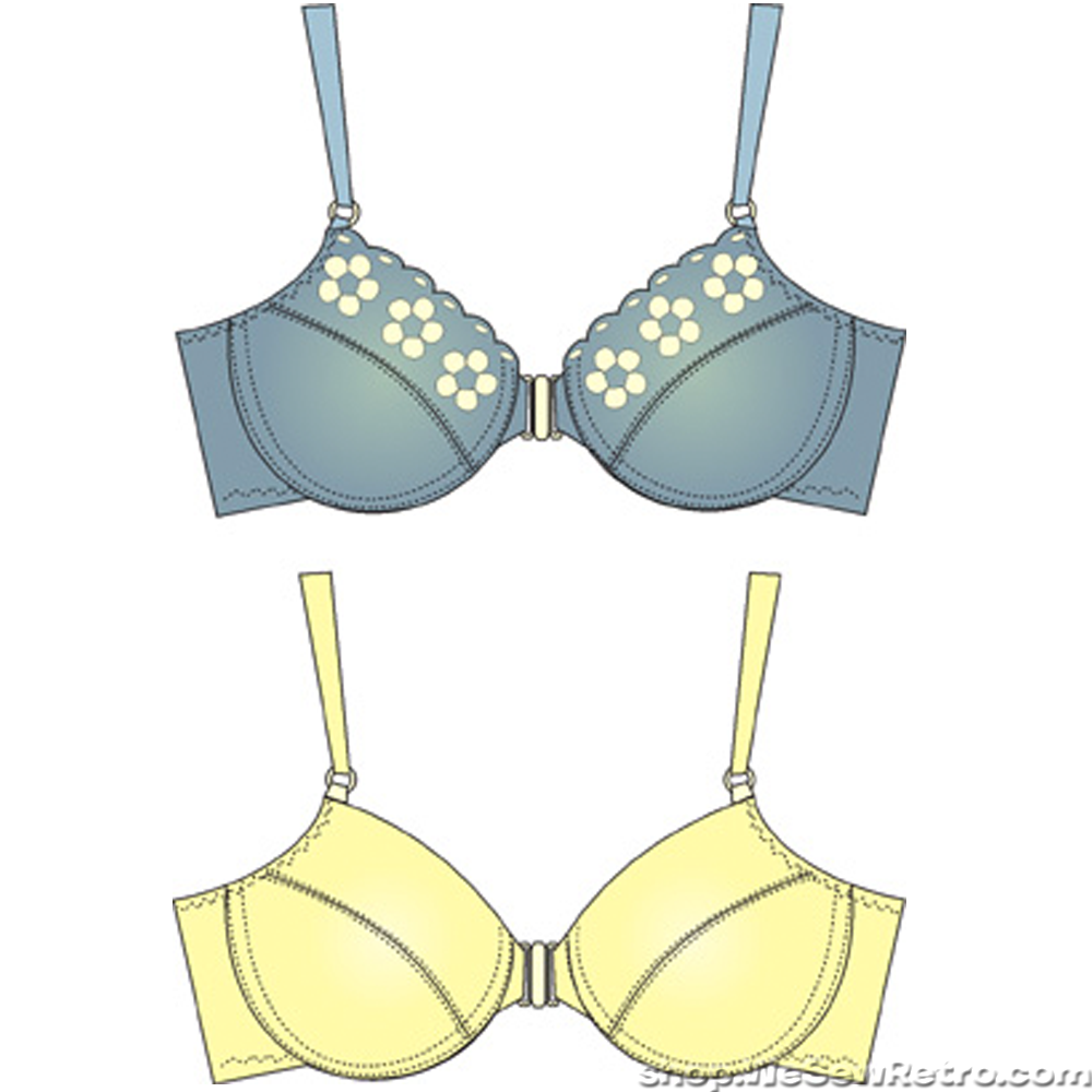 Bra Sewing Patterns Magnificent Design