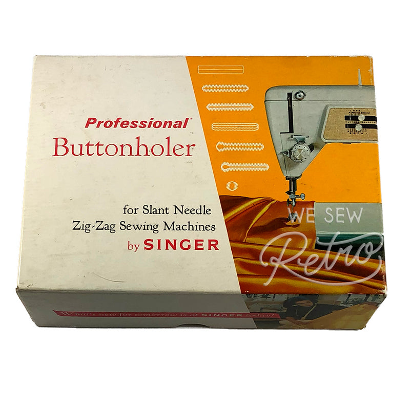 Vintage Singer Buttonholer for slant needle zigzag machines - Part No. 102577
