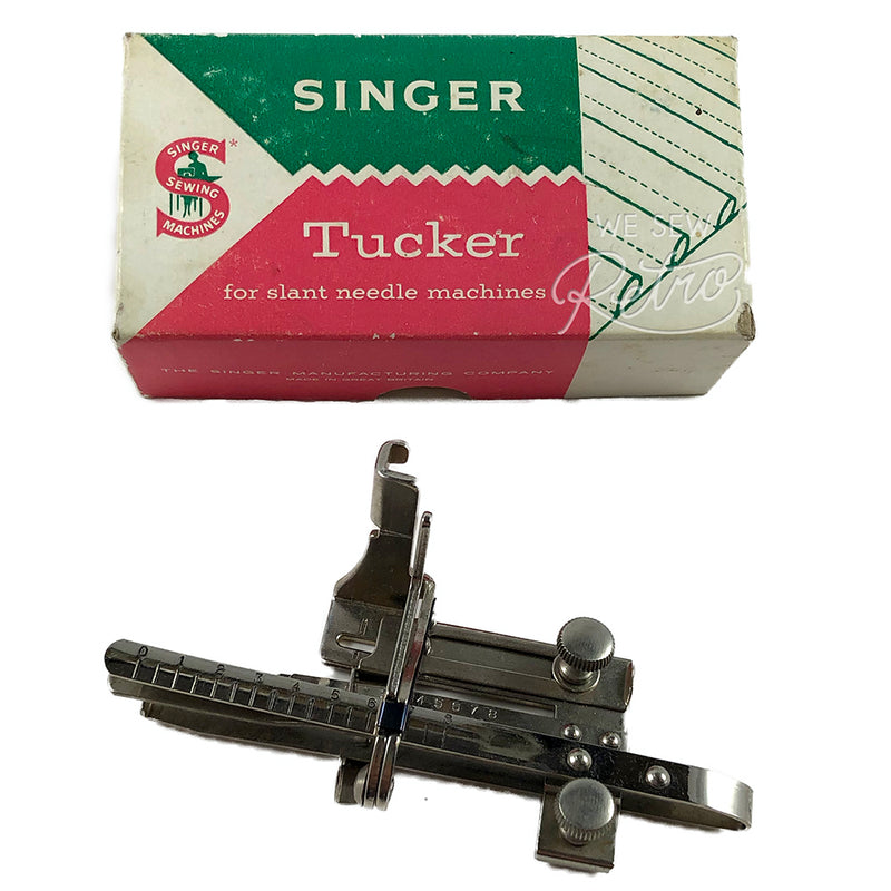 Vintage Singer Tucker Attachment for slant needle machines - Part no. 161226