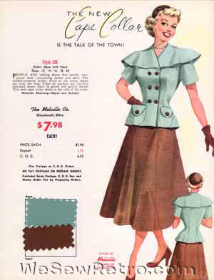 PDF Download - Pick One 1950s Vintage Salesman Sample Sewing Room Decor