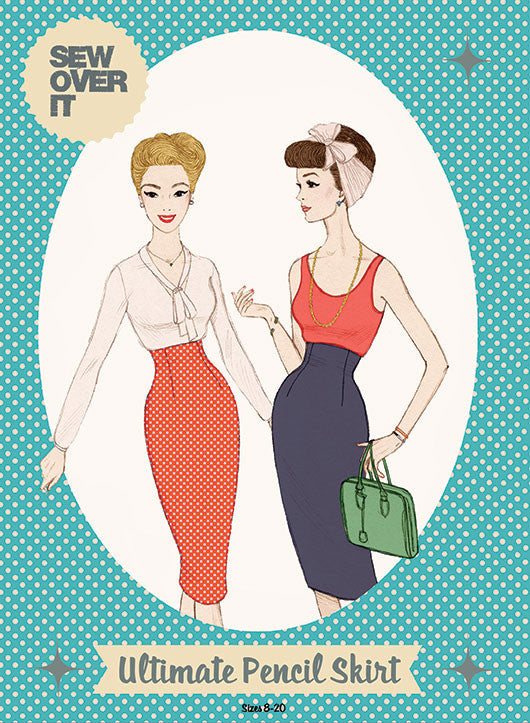 Sew Over It Ultimate Pencil Skirt Paper Pattern