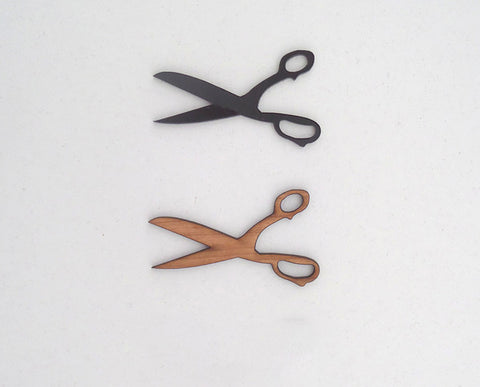 Scissor Brooch by MiY Collection
