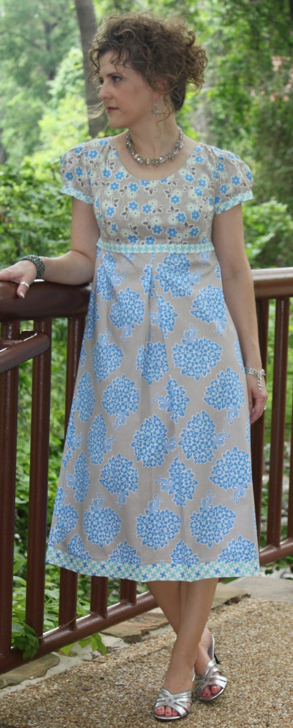 Serendipity Studio Bebe Dress Sewing Pattern *