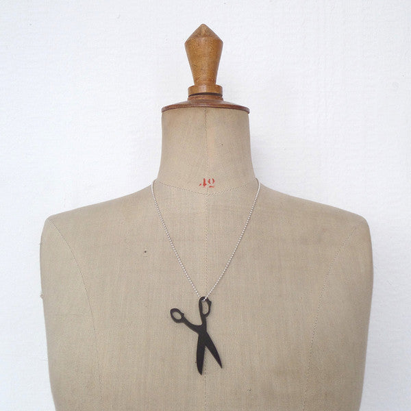 Scissor Necklace by MiY Collection