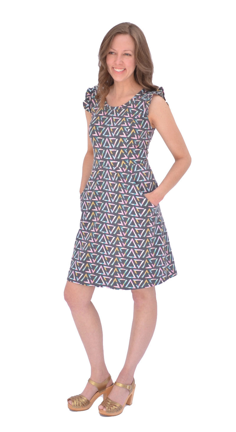 Hey June Charleston Dress PDF Sewing Pattern