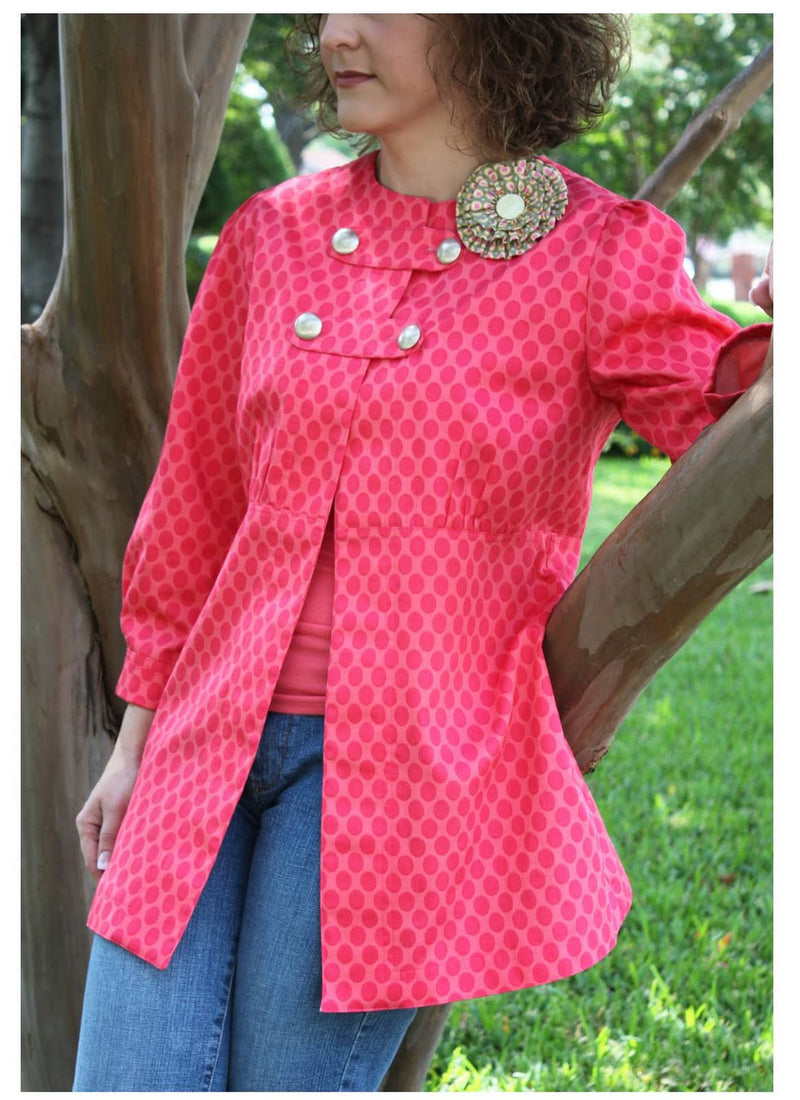 Serendipity Studio Catherine Coat Sewing Pattern