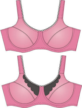 Pin Up Girls Classic Bra Pattern