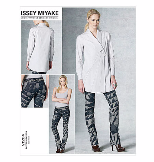 V1204 Vogue Designer Original Issey Miyake Separates Sewing Pattern Vogue 1204 Jacket & Pants