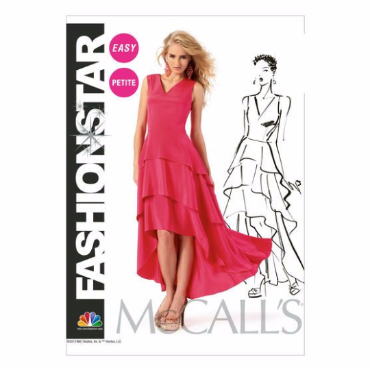 M6698 McCalls 6698 Hi Lo Dress Sewing Pattern - Out of Print