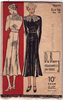 DuBarry 1280 - 1930s Two Piece Dress Vintage Sewing Pattern