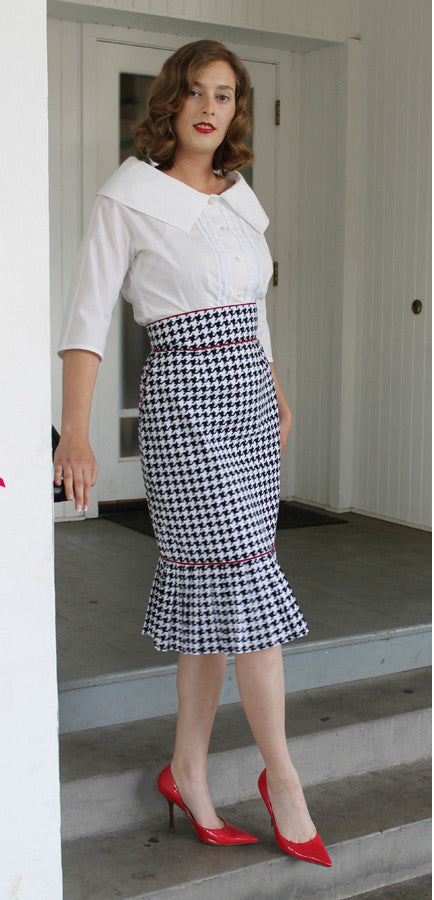 Vignette Skirt Sewing Pattern by Sew Chic Pattern Company
