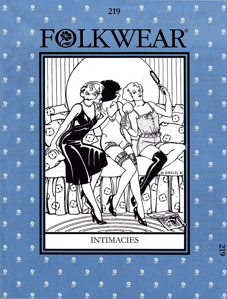 Intimacies 1920s 1930s Lingerie Sewing Pattern