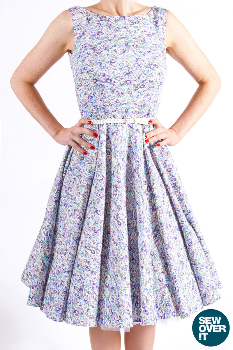 Sew Over It Betty Dress Sewing Pattern Wesewretro