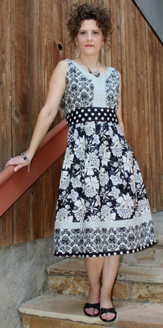 Serendipity Studio Madeline Maxi Dress Sewing Pattern