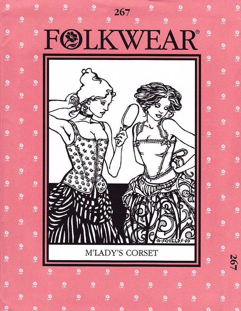 M'Lady's Corset Sewing Pattern Folkwear 267