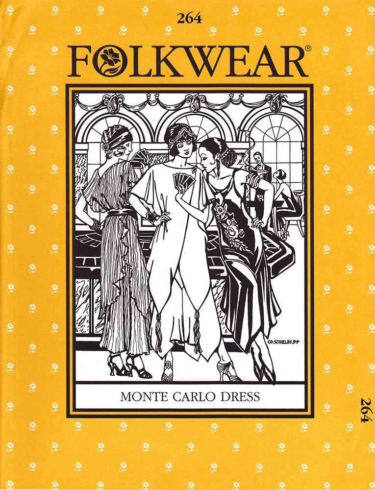 Monte Carlo Flapper Dress Sewing Pattern