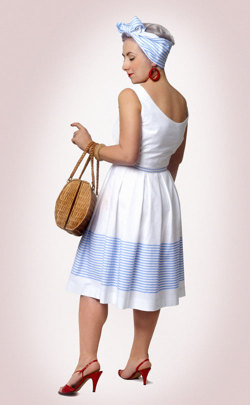 How to do Fashion Dragør 1950s Dress PDF Sewing Pattern