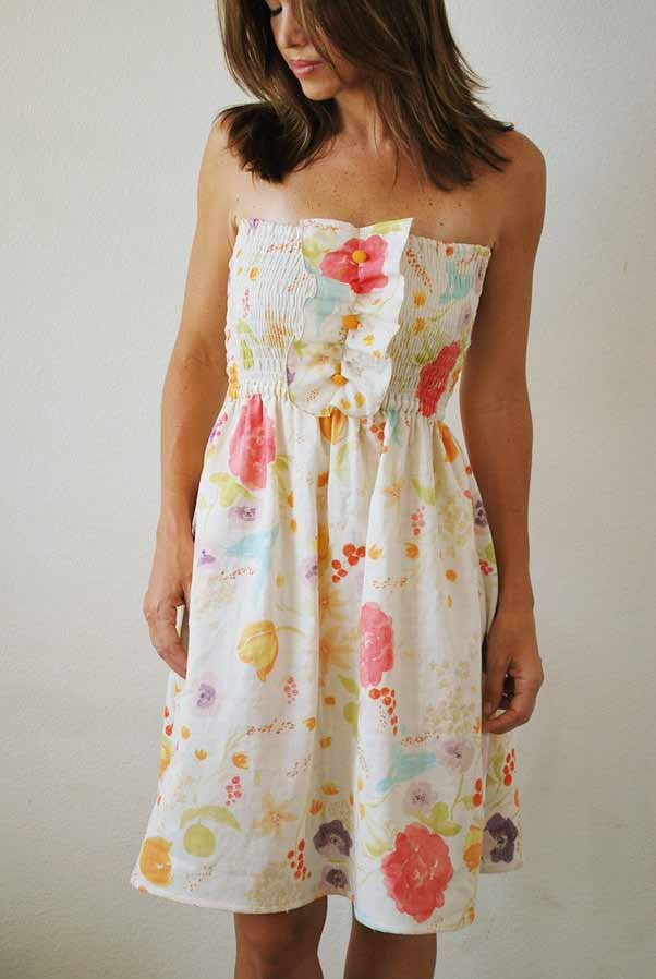 Honey Girl Shirred Sundress Sewing Pattern by Jamie Christina