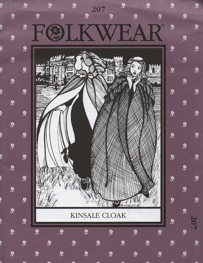 Folkwear Kinsale Cloak Sewing Pattern - Folkwear 207
