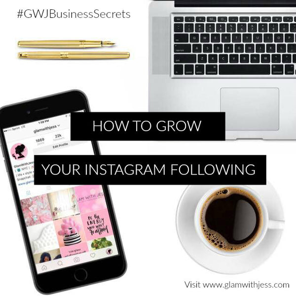 Business Secrets: How To Grow Your Instagram Following