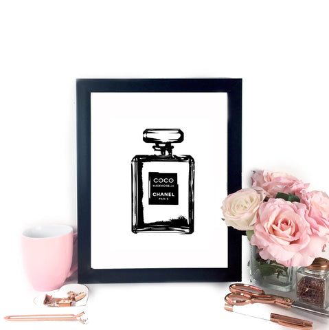 Coco Chanel Inspired Printable Art