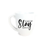 Wake Up, Slay, Repeat Mug, Mug - Glam & Co