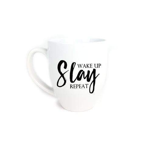 Wake Up, Slay, Repeat Mug