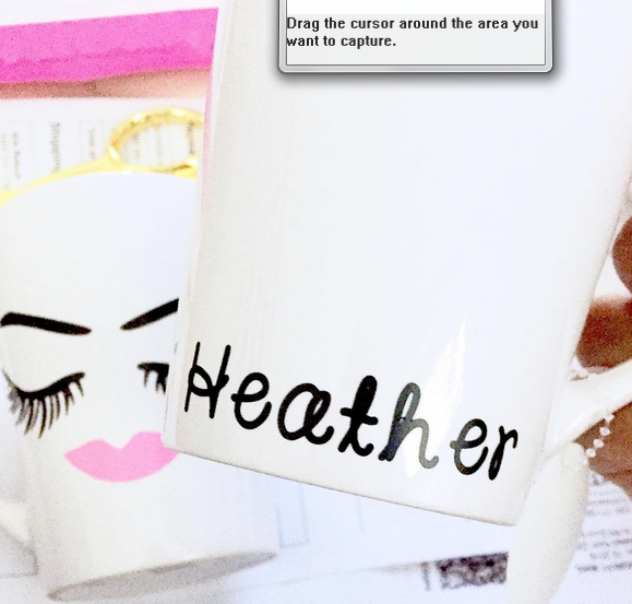 Lashed Mug, Mug - Glam & Co