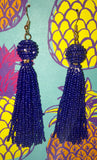 Tassel Earrings <see color selection>