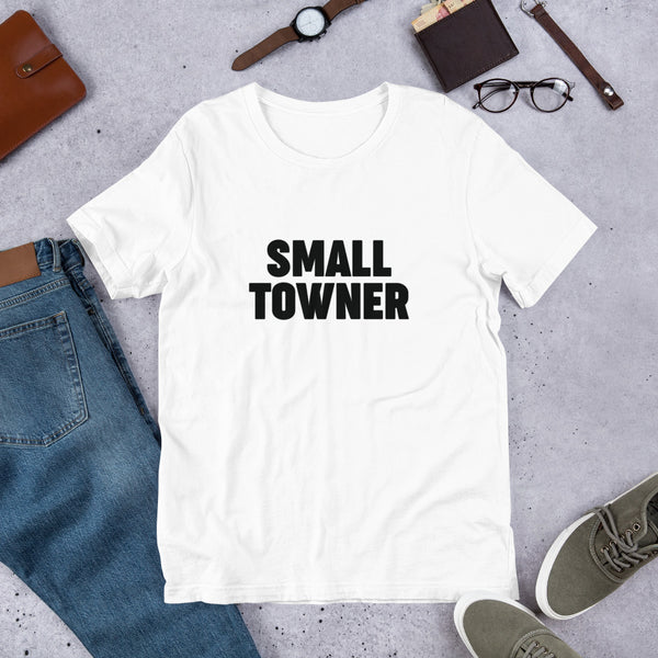 """Small Towner"" (Solid) - Short-Sleeve Unisex T-Shirt"