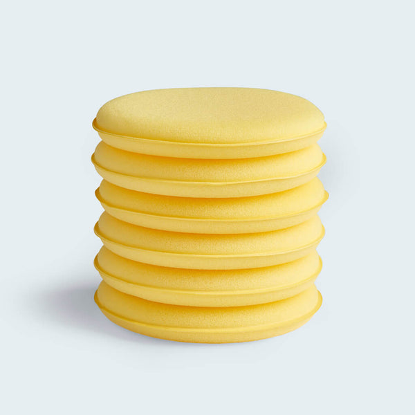 Wax Applicator Discs 6 pack