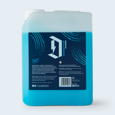 Duel Bahama Blue High Concentrated Shampoo 5 Litre