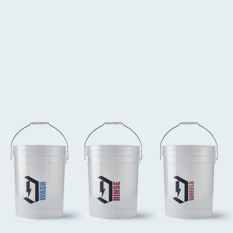 Duel Detailing buckets Complete Set