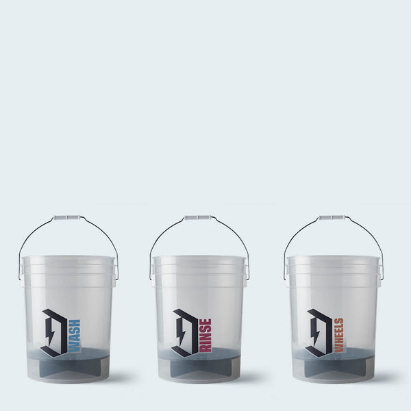 Duel Detailing buckets Complete Set with Grit Guards