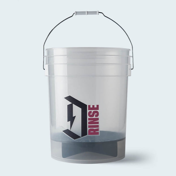 Duel Rinse bucket with Grit Guard