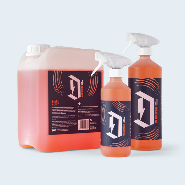 Duel Cleanse Tyre Cleaner group