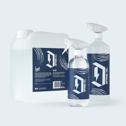 Duel Optical Window & Glass Cleaner group