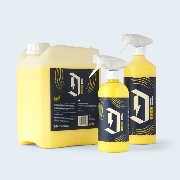 Duel Oxide Quick Detailer Hybrid group