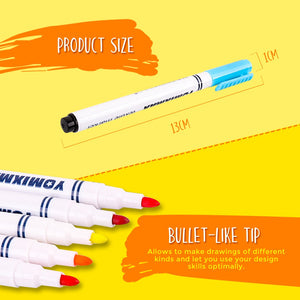 Fabric Marker Pen Yellow Other Colours for T-Shirts  Bags Cushions Clothes
