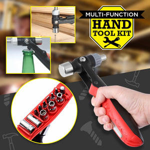 Durable Ratchet Screwdriver T Type Anti-Slip Wrench Multifunction Hand Tool