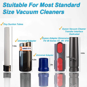 Cleaner Sweeper For Vacuum Dust Dirt Remover Universal Attachment Interface Tool