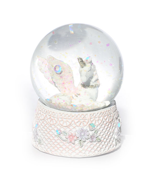 Unicorn Water Globe Large