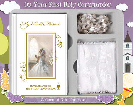 Girl Communion Set