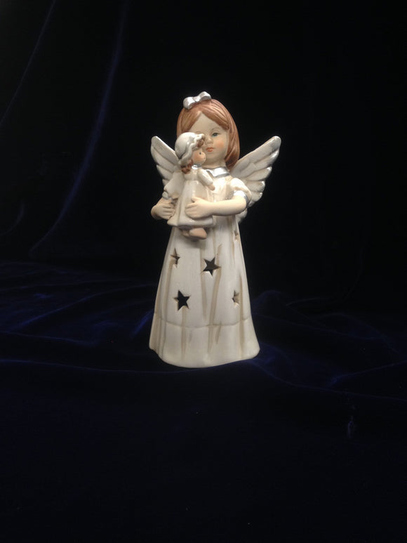 Porcelain Angel Decorative T-light holder