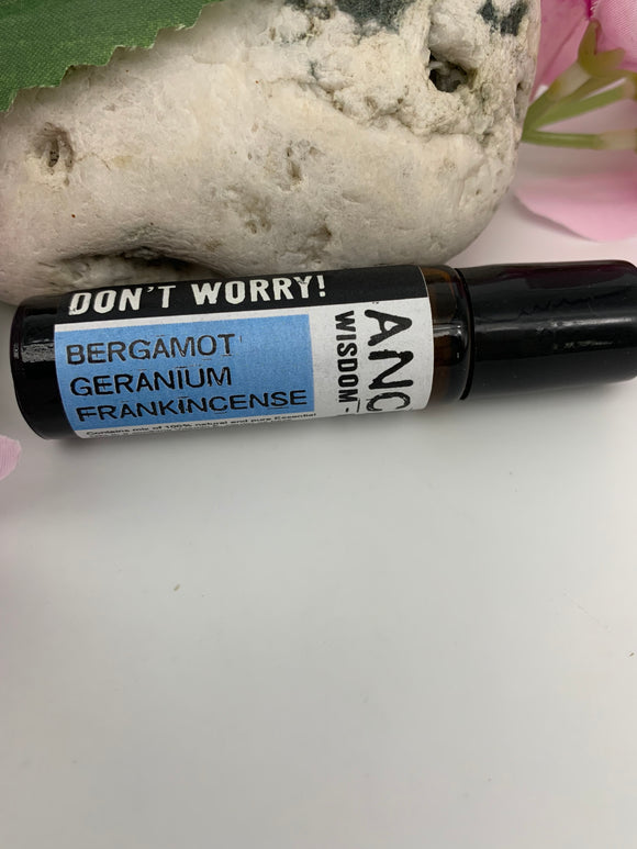 DON'T WORRY!  Essential Oil Roll-On