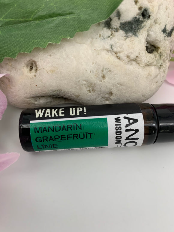 WAKE UP!  Essential Oil Roll-On Blend