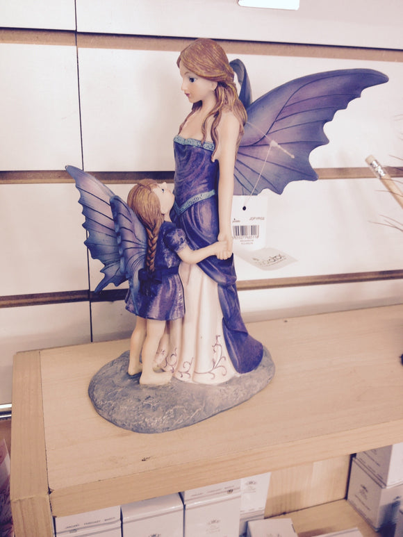 Amethyst Fairy Mother and Child